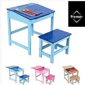 Schreibtisch und Stuhl-Set/Schule Zeichnen Hausaufgaben