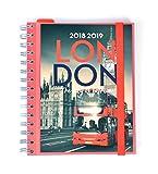 Grupo Erik Editores asvw1801-Agenda Scolaire London, 11.4x 16cm...