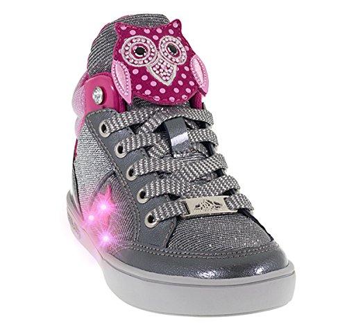 Lelly Kelly LK6404 Sneaker für Mädchen, mit Eulenmotiv, Blau *