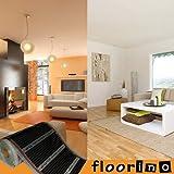 floorino Fußbodenheizung 1,0 x 0,5m für Laminat und Parkett