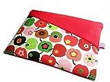 Tablet Netbook Notebook Tasche Red Äppeltäsch mit Außenfach, Maßanfertigung