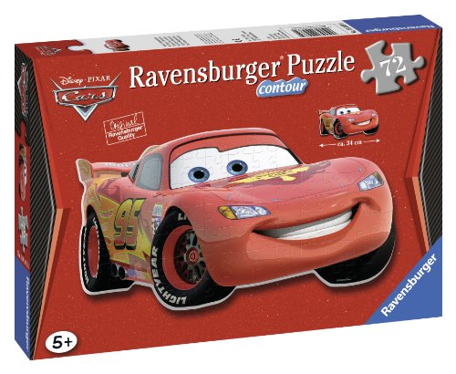 Ravenburger Puzzles Ravensburger Lightning Mcqueen Shaped, Multi Color