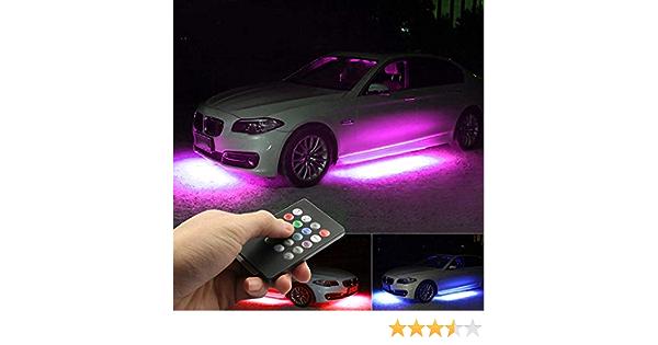 120CM 60 SMD Auto-Streifen unter Licht Neon Fussraum flexible wasserdicht N Q5V1