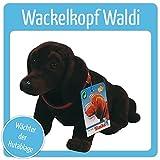 Wackeldackel-Waldi von Simba - Geschenk - Einfach Kult ! Dunkel