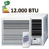 Fensterklimagerät kompakt 3,5 KW Kühl und Heizung R410A TOSHIBA Kompressor
