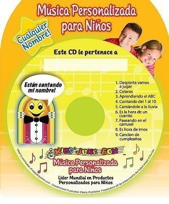 Musica personalizada para niños