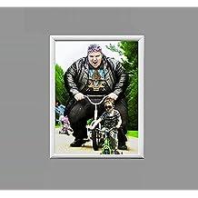 Uberlyfe Stylish Photo Frame size 12 x 16 White(PF-000887-LMZ1216)
