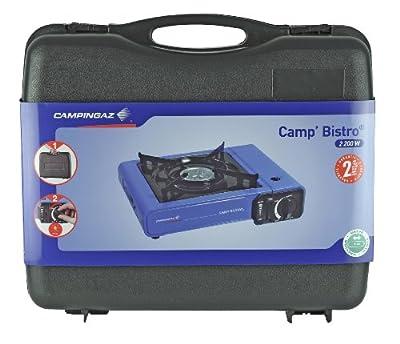 Campingaz 205372 Gaskocher Camp Bistro Stopgaz, dunkelblau (33 x 28 x 9 cm)