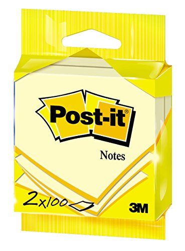 post-it-76x76-mm-notes-canary-yellow-pack-of-2