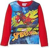 Marvel Spiderman Hero, Camiseta para Niños, (Red 19-1763tc), 4 años