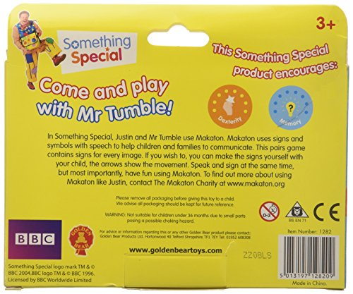 Image of Something Special Mr. Tumble Pick n Match Pairs Game