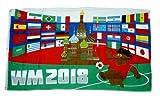 Fahne / Flagge Russland WM 2018 90 x 150 cm