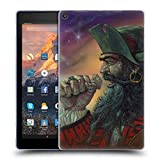 Head Case Designs Officiel Ed Beard Jr Pirate De Barbe Noir Médiéval Étui Coque en Gel Molle pour Amazon Fire HD 10 (2017)
