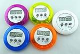 naisecore Domire Mini Rund Digital Electronic Magnetischer Küchen Timer