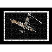 Stile Puzzle, Pre-assemblato da parete con stampa astronave di Iss