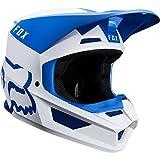 Fox Helm V-1 Mata Blue/White, Größe M