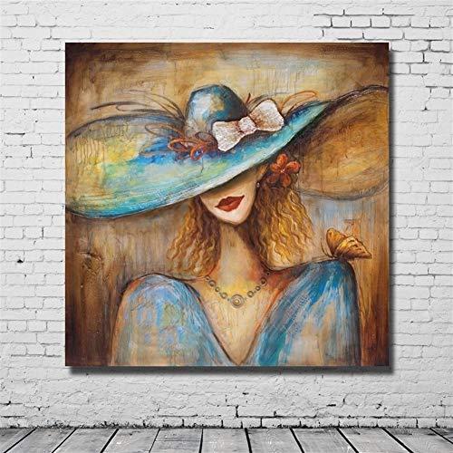 Dumai Pinturas Resumen gráfico Pinturas al óleo clásicas de Belleza señora Retratos...