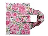 Tasche für den Schönfelder - Rosa/grüne Blumen