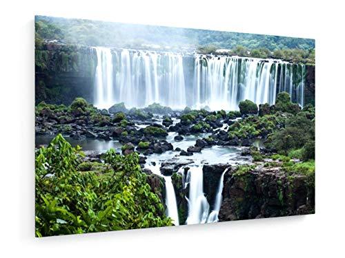 Mariusz Prusaczyk - Cataratas de Iguazú, la Mayor Serie de caídas de Agua del Mundo, Brasil - 30x20 cm - Impresion en Lienzo - Muro de Arte - Canvas, Cuadro, Poster - Landscape