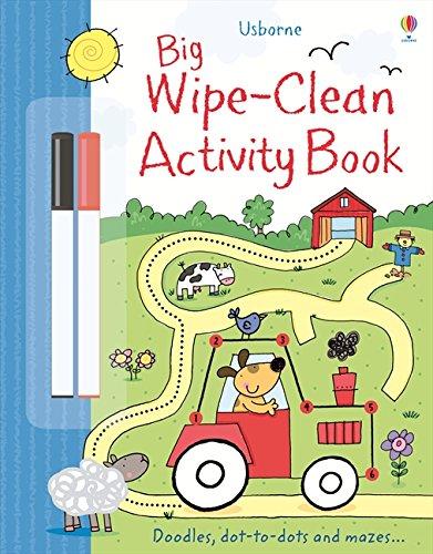 Big Wipe Clean Activity Book (Wipe-clean Books)