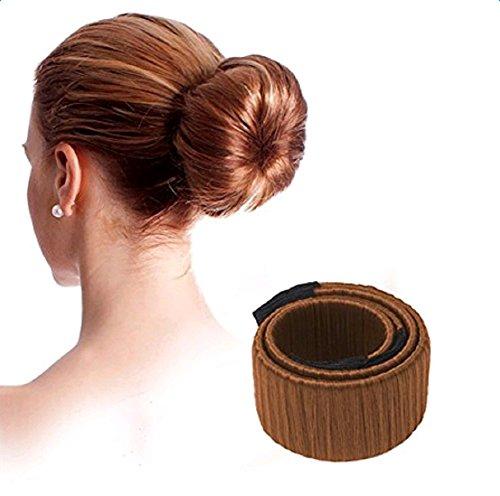 Da.Wa Hair Bun Maker Mode Frisur Damen Fashion Haarstyling Tool Donut Haare Dutt Styling Werkzeug-Brautfrisur für Brautschmuck Haarknoten,set of 1