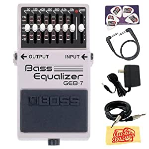 Boss: GEB-7 Bass Equalizer Pedal. For Electric Guitar