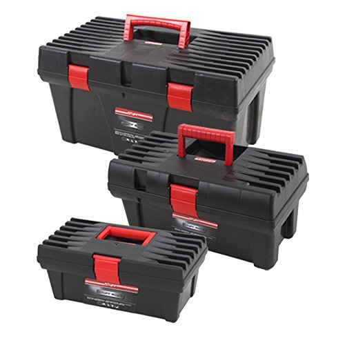 Werkzeugkoffer-Set STUFF BASIC 3tlg Werkzeugkiste Werkzeugbox Werkzeugkasten Angelkoffer Sortimentskasten