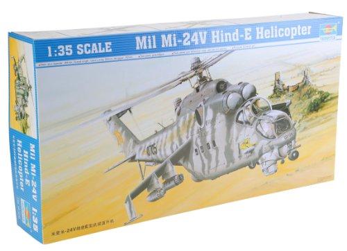 Preisvergleich Produktbild Trumpeter 05103 Modellbausatz Mil Mi-24 V Hind-E
