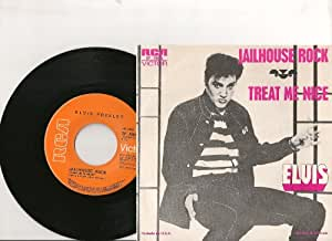 jailhouse rock 45 tours mexique (mexico) RCA SP 4845