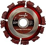 Marcrist VC750 RipCut Scheibe 125 mm Bohrung 22,2 2630.0125.22 zum scheiden von Holz, Wurzeln, Erdreich, Paletten, Kunstoff, Bitumen, Dach papen bahnen rollen Hartemtallscheibe Rip Cut passend für Winkelschleifer