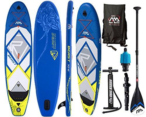 Die Aqua Marina SUP Board BEAST im Vergleich