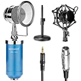 Best Filtres Neewer Pop - Neewer® Microphone du Bureau à Condensateur Bleu pour Review