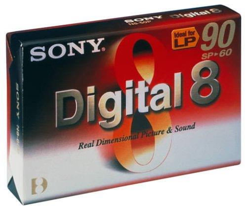 Sony - 8MM-Camcorder Kassette, Digital 8-Format, 60 Minuten 8 Mm Digital-camcorder