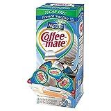 SCS Nestle CoffeeMate Creamer Tubs French Vanilla Sugar 50 Count