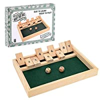 Toyrific TY4660 Shut The Box, Single Player-9 Numbers dice Game