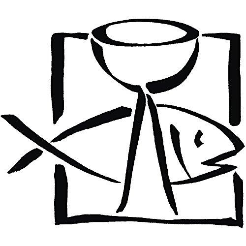RAYHER 28802000, H.- Stempel Fisch und Kelch, 6 x 7 cm, Artikel 27922 -