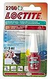Henkel 2700/5/1Loctite Gesundheit und Sicherheit Schraubensicherung, Hohe Festigkeit, 5ml