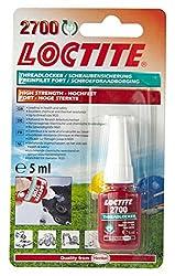 Henkel 2700/5/1 Loctite Health and Safety Threadlocker, High Strength, 5 mL