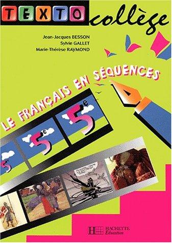 Le français en séquences 5ème