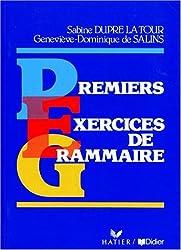 Premiers exercices de grammaire, niveau 1