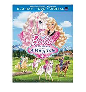 Barbie & Her Sisters in a Pony Tale [Blu-ray] [Import anglais]