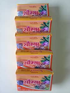 Haldi Chandan Soap (Somya) - Pack of Five