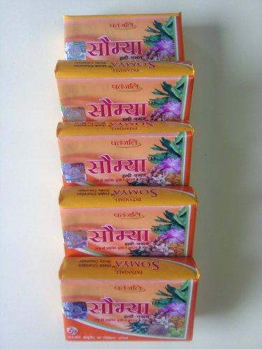 Haldi Chandan Soap (Somya) – Pack of Five
