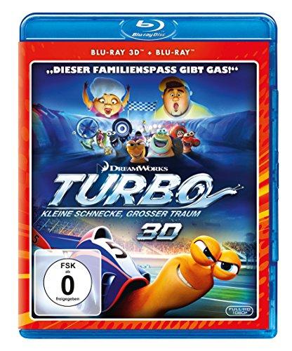 Turbo - Kleine Schnecke, großer Traum  (+ Blu-ray 2D) Preisvergleich