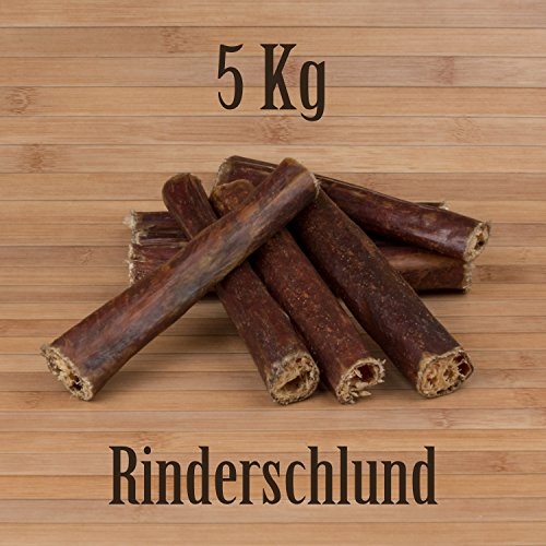5 Kg Rinderschlund Dörrfleisch Rinderdörrfleisch - wie Ochsenziemer Rinderohren