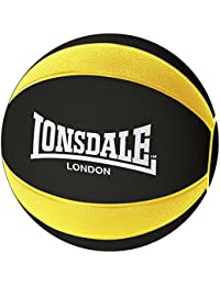 Lonsdale Medicine Ball Durable Rubber Outer Dimpled Pattern Fitness