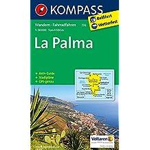 La Palma 1 : 50 000: Wanderkarte mit Aktiv Guide, Stadtplänen und Radrouten. GPS-genau