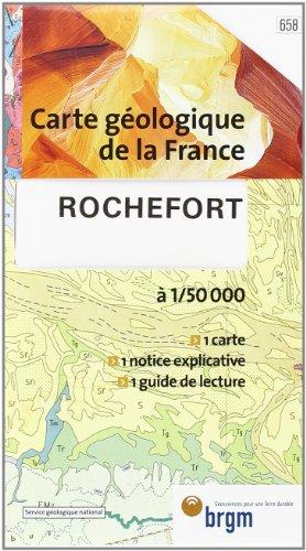 Carte géologique : Rochefort