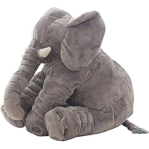 ZEARO Bebé Elefante almohada Cute Animal Cojín Sueño de Felpa de Almohadas Peluches de Felpa