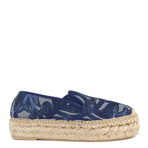 Kanna Path Blu Sequin Espadrillas Donna 38 Marino